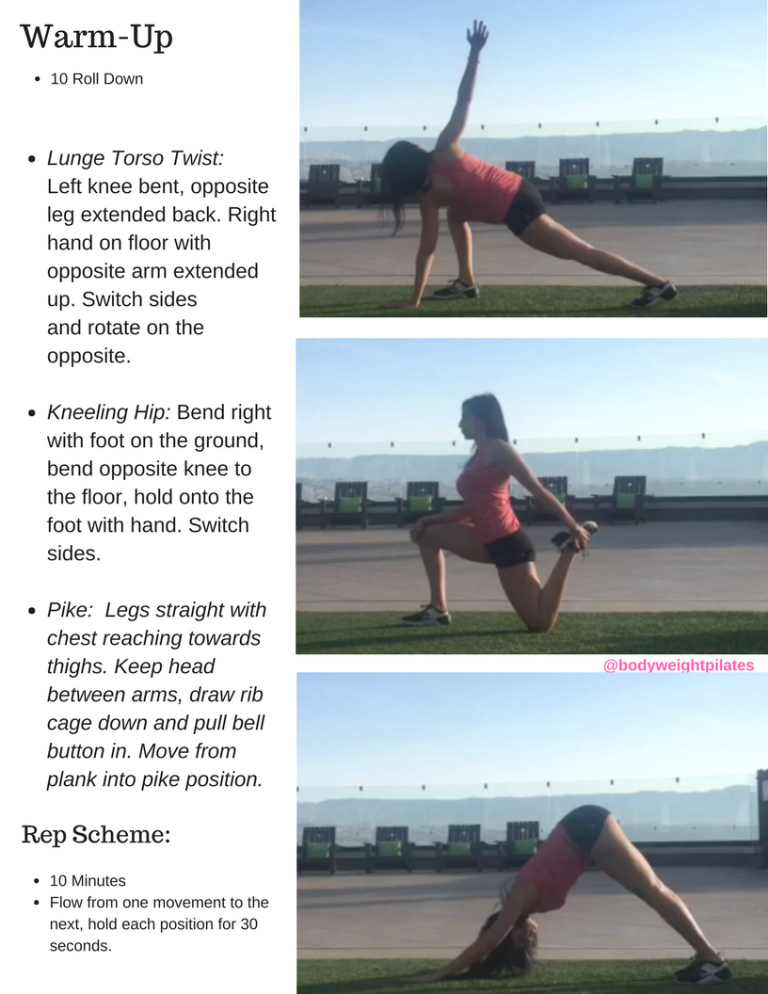 Pilates Hip Mobility Flow