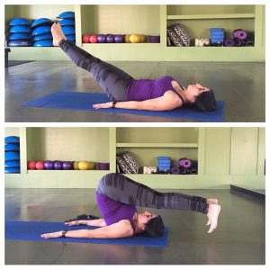 Hamstring and Back Relief - Roll Over