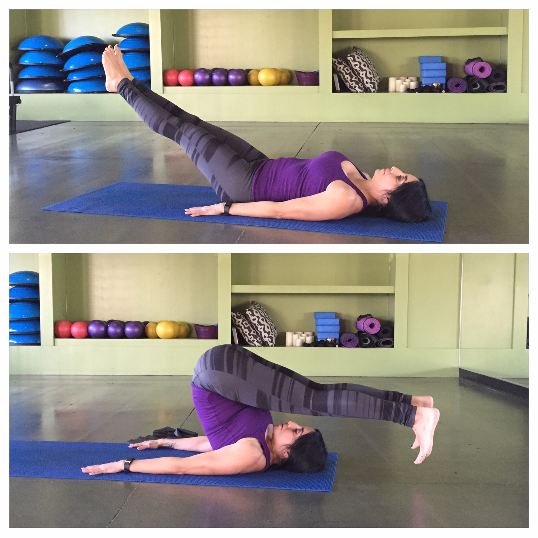 Hamstring and Back Relief – Roll Over
